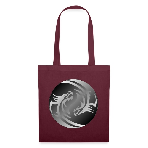Yin Yang Dragon - Tote Bag