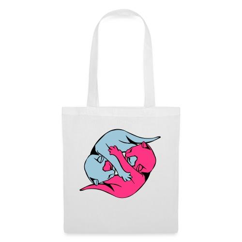 Yin and Yang Kitties - Tote Bag