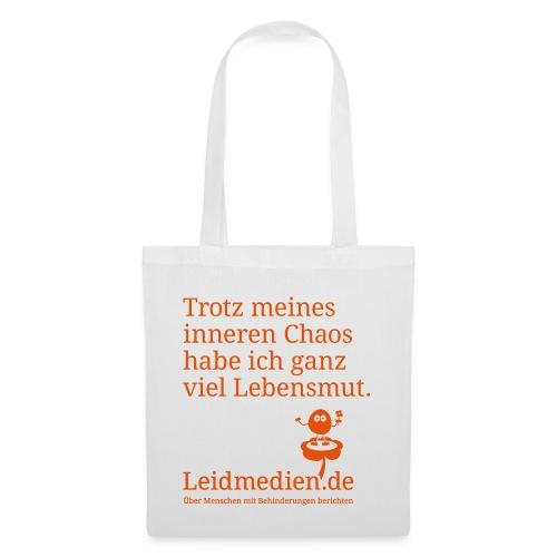 leidmedien chaos spreadshirt2test - Stoffbeutel