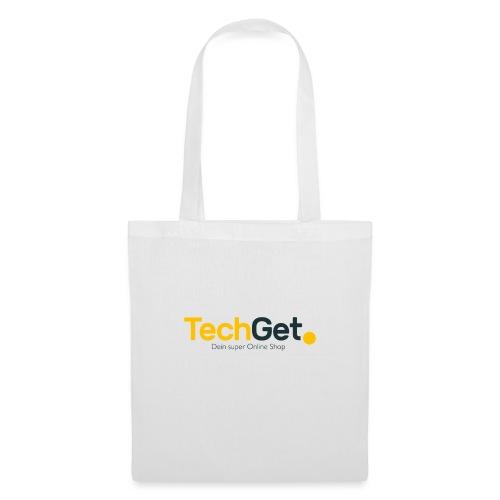 TechGet Marken Logo - Stoffbeutel