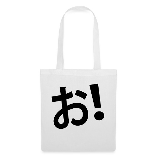 ¡Oh! en japonés - Bolsa de tela