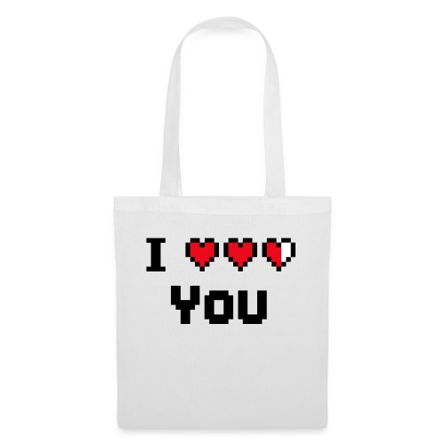 I pixelhearts you - Tas van stof