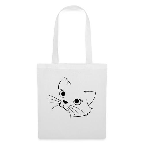 En söt katt - Tygväska