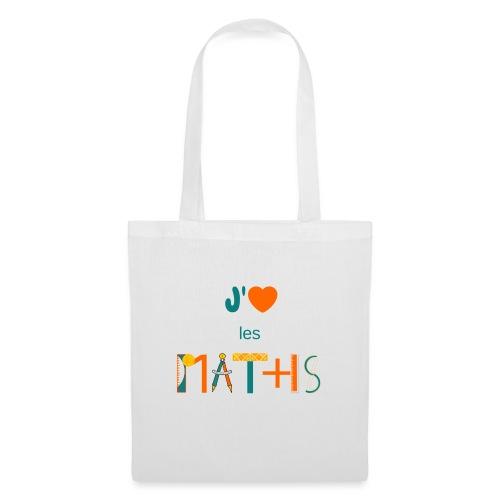 J'aime les MATHS - Tote Bag