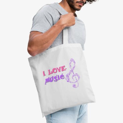 Love Music - Bolsa de tela