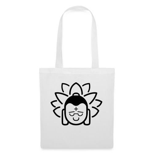 Boeddha hoofd blad - Tas van stof