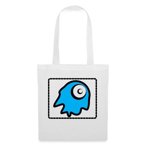 blue monsty - Bolsa de tela