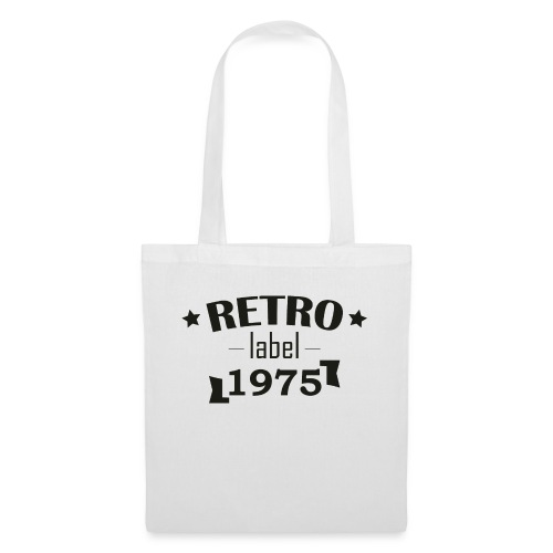 Label Retro - Tote Bag