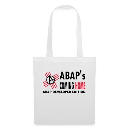 ABAPsComingHomeBlack - Stoffbeutel