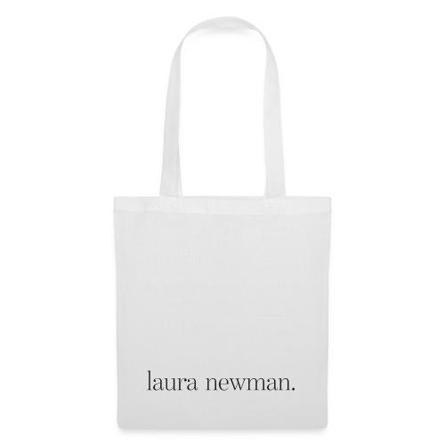 laura newman. Logo | dark - Stoffbeutel