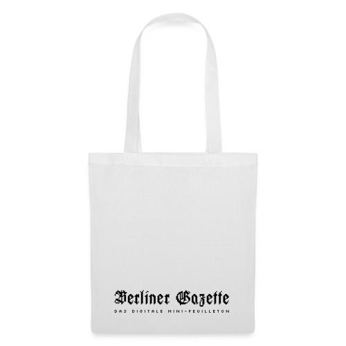 Berliner Gazette by TM f - Stoffbeutel