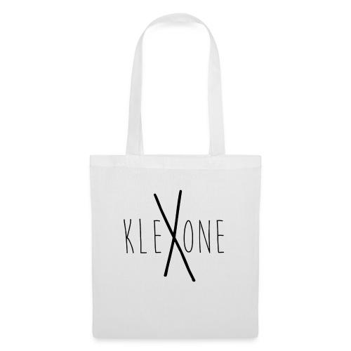 kleXone Mütze weiß - Stoffbeutel