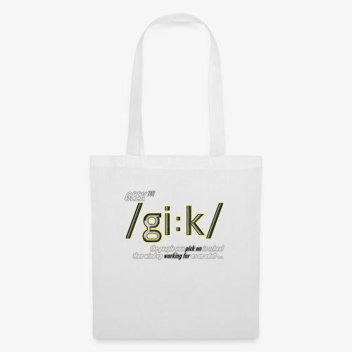 GEEK DEFINITION - Tote Bag
