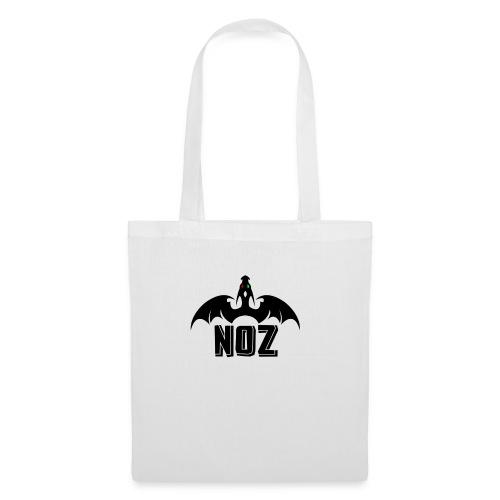 NOZlogoBlack nowhite - Tote Bag