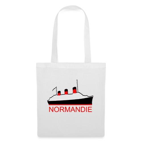 PAQUEBOT TRANSATLANTIQUE LE NORMANDIE - Tote Bag