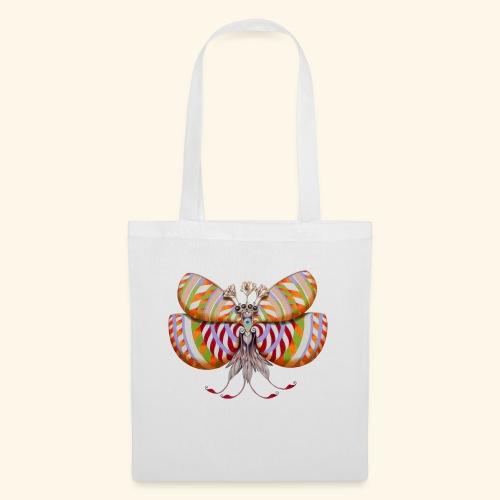 Circular butterfly - Borsa di stoffa