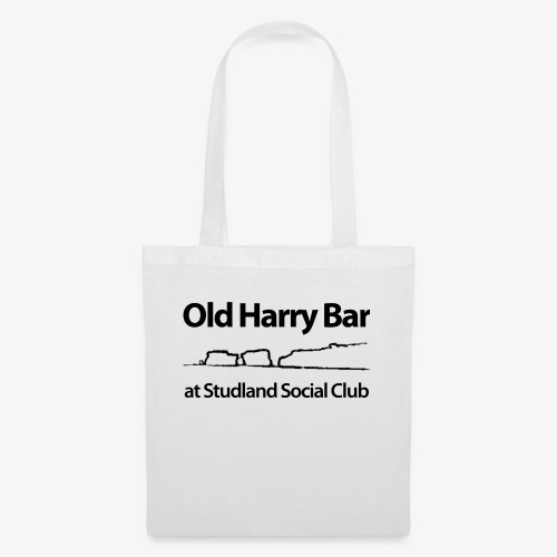 Old Harry Bar logo - black - Tote Bag