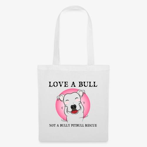 LOVE A BULL - Borsa di stoffa