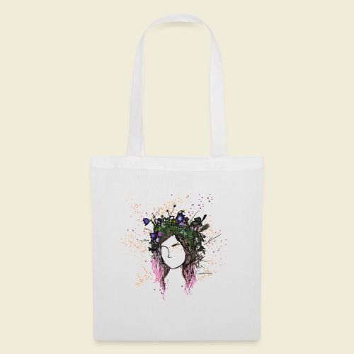 flower crown - Tote Bag