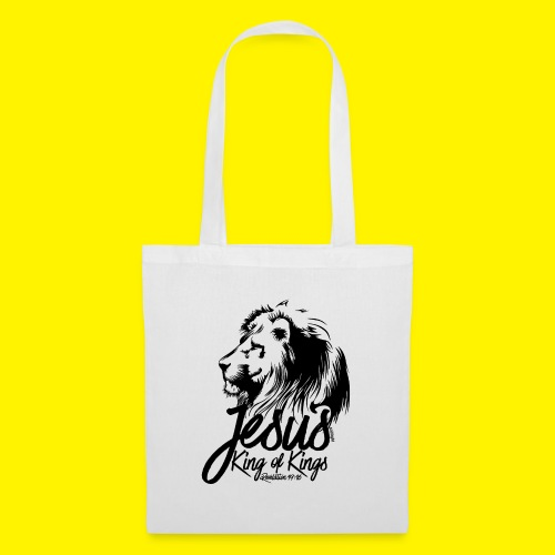 JESUS - KING OF KINGS - Revelations 19:16 - LION - Tote Bag