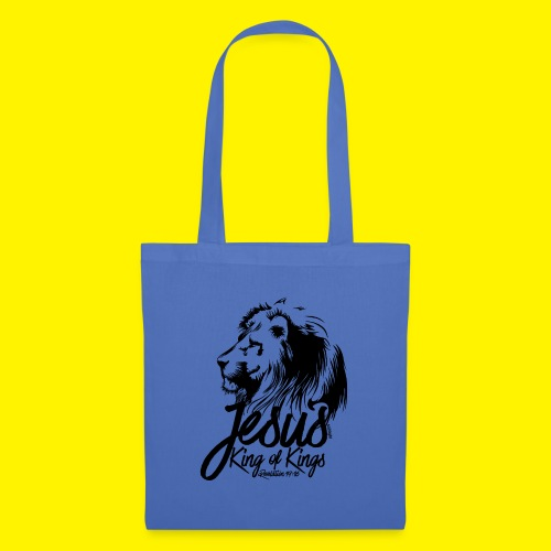 JESUS - KING OF KINGS - Revelations 19:16 - LION - Tote Bag