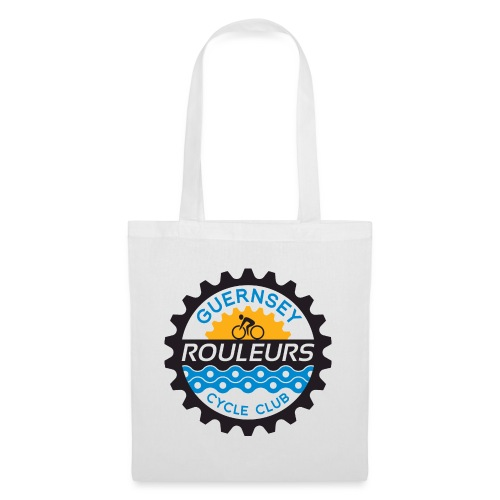 Guernsey Rouleurs Logo - Tote Bag