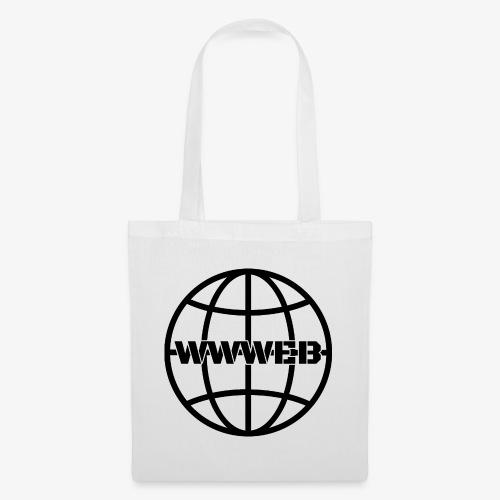 WWWeb (black) - Tote Bag