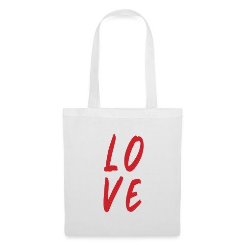 love - Borsa di stoffa
