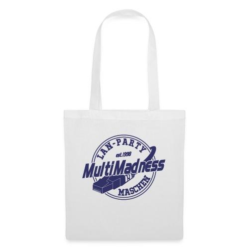 MMM Logo - modern weiß - Stoffbeutel