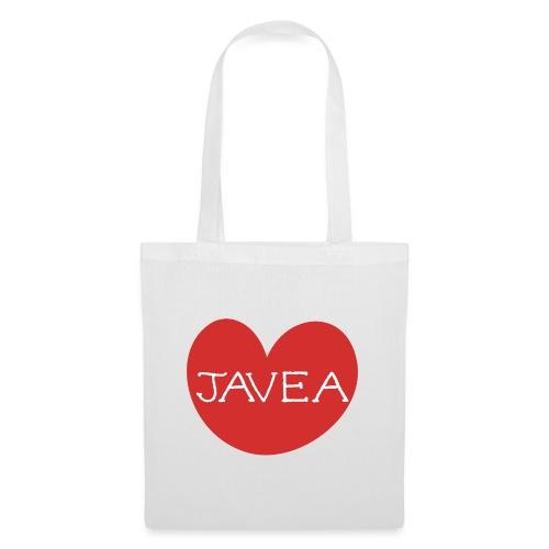 LOVE JAVEA - Bolsa de tela