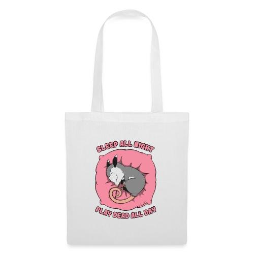Vita da Opossum rosa - Borsa di stoffa