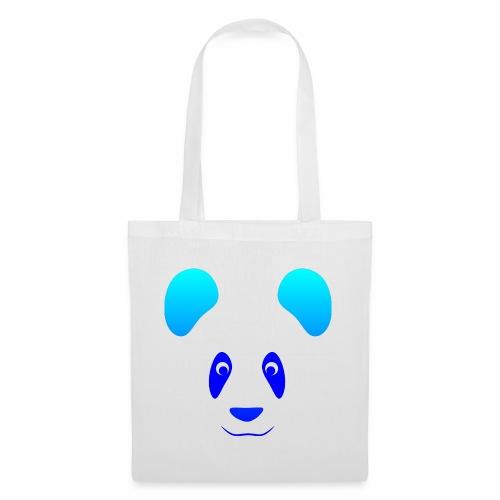 Happy Panda - Blue - Tote Bag