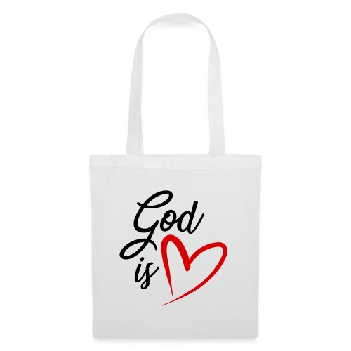 God is love 2N - Borsa di stoffa
