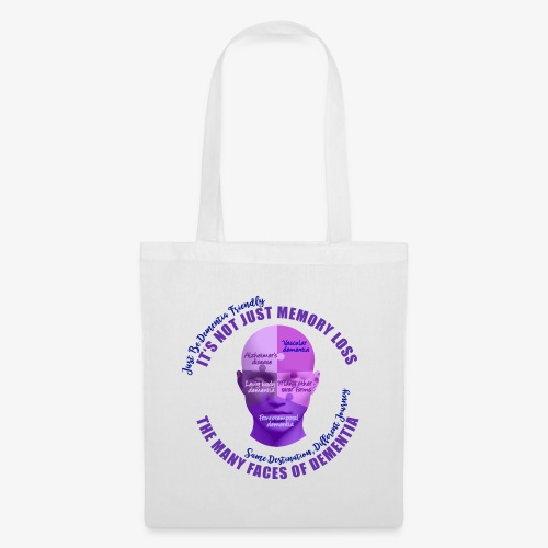 The Many Faces of Dementia - Tote Bag