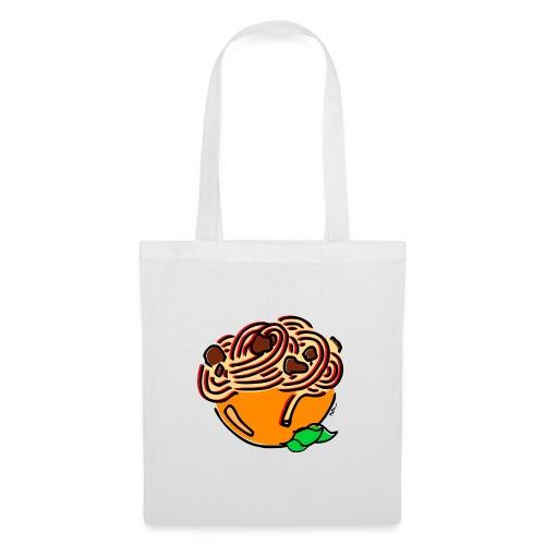 Schüssel Spaghetti - Stoffbeutel