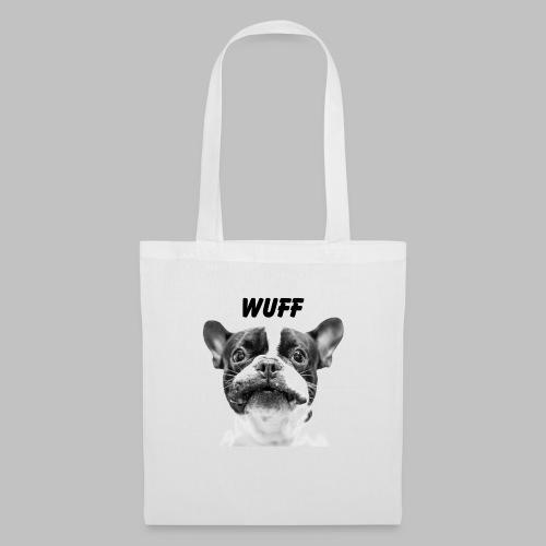 Wuff - Hundeblick - Hundemotiv Hundekopf - Stoffbeutel