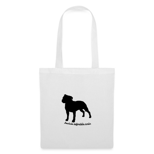 american staffordshire terrier - Tote Bag