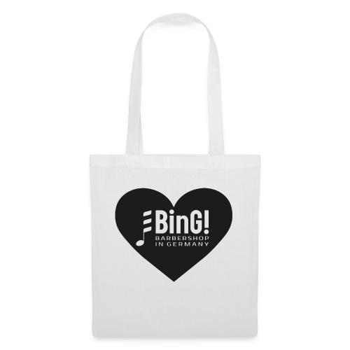 BinG Heart - Stoffbeutel