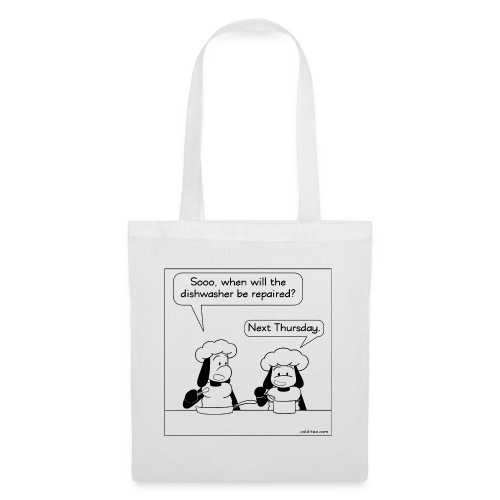 dirty dishes - Tote Bag