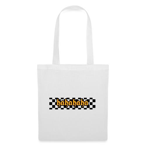 hahahaha checker design - Mulepose