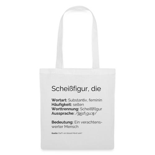 Sch**figur - Stoffbeutel