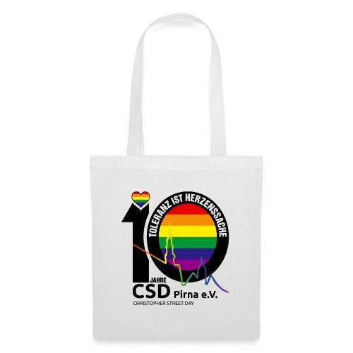 CSD Pirna 2021 Toleranz ist Herzenssache - Stoffbeutel