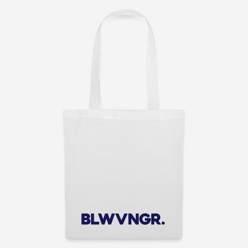 BLWVNGR. | Blauw - Tas van stof