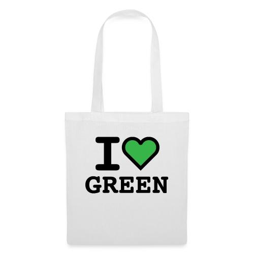 i-love-green-2.png - Borsa di stoffa
