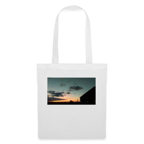 Cloudy Red Sky - Tote Bag