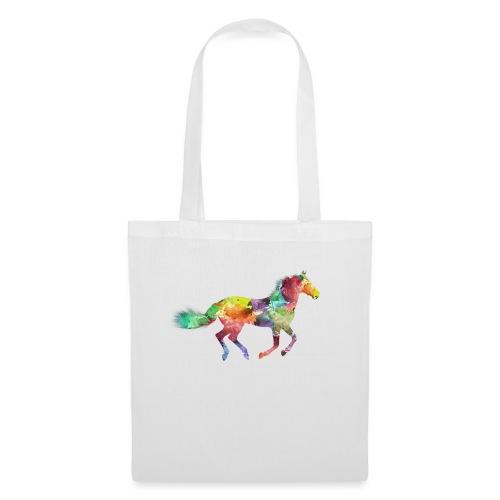 Cheval multicolore - Tote Bag