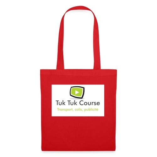 Logo tuk tuk course - Sac en tissu
