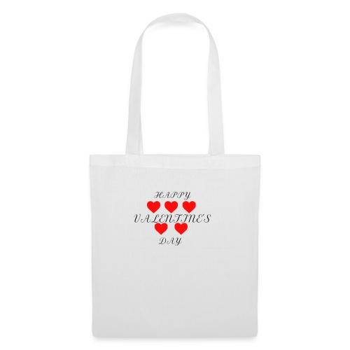 happy valentine s day 3 - Stoffbeutel