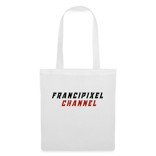 Francipixel CHANNEL - BLACK/RED - Borsa di stoffa