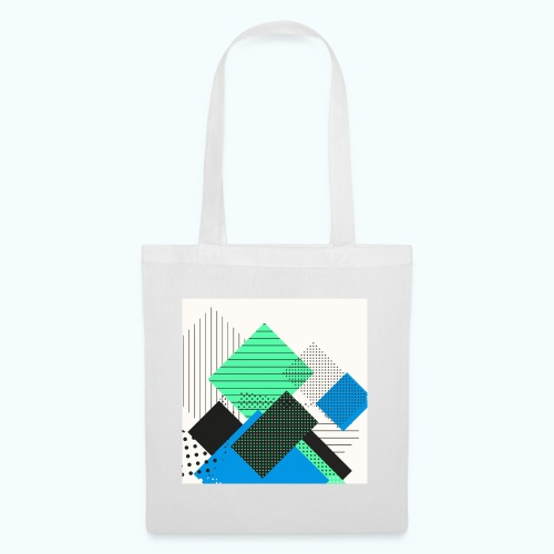 Abstract rectangles pastel - Tote Bag